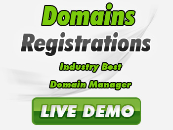 Popularly priced domain registrations & transfers